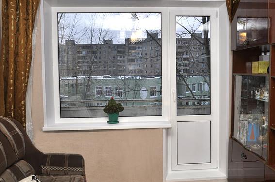 Пластиковые окна балконный блок под ключ - торг64 - бесплатн.